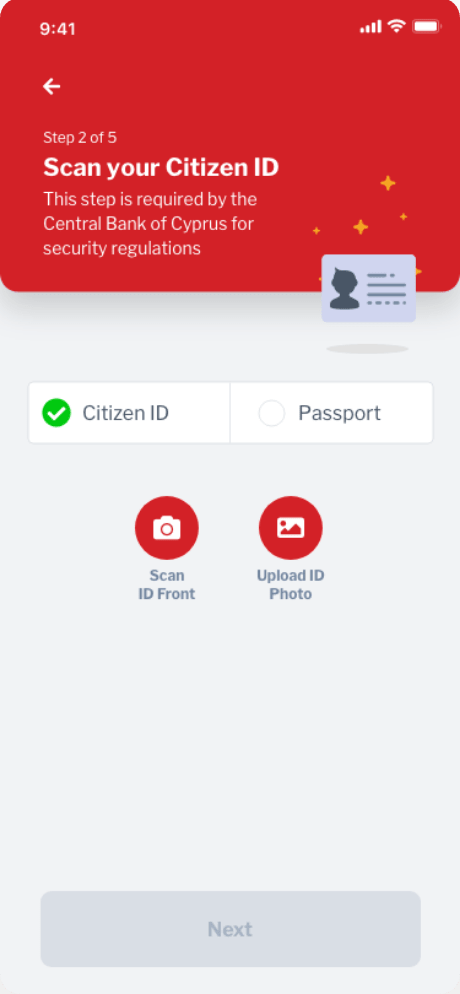 Scan your citizen
